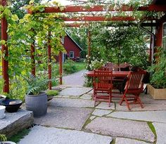 - - Pergola covered with fire ., - - - covered pergola with fireplace - There are many stuff that can certainly as a final point comprehensive your current backyard,. Cheap Pergola, Outdoor Pergola, Backyard Pergola, Pergola Shade, Pergola Plans, Outdoor Rooms, Outdoor Gardens, Black Pergola, Rustic Pergola