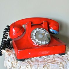 Vintage Telephone. These are so cool