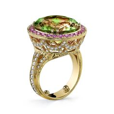 Csarite Cathedral Ring