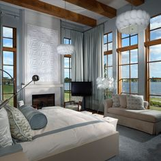 Tradewinds private residence in Winter Park, Fla. Master bedroom.