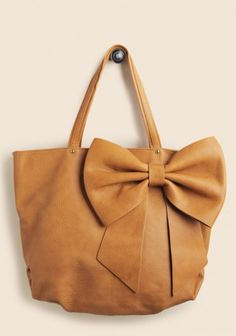 Notting Hill Bow Tote | Modern Vintage Accessories