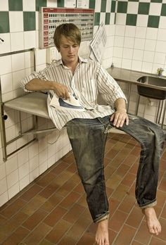 Ironing out some kinks in the character (photo: Erik Johansson)