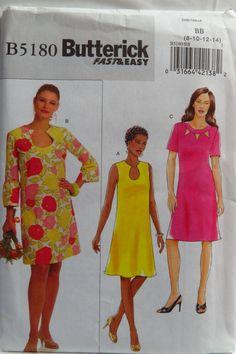 Butterick 5180 Misses'/Misses' Petite Dress