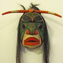 Chief of the Undersea People, NW Coast Nation Mask