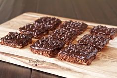 Paleo Double Chocolate Expresso Bars (gluten, grain, dairy, egg free) by LivingHealthyWithChocolate.com