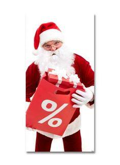 Santas Sale Motivdruck Papier