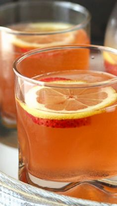 Raspberry, Limoncello and Prosecco Cooler - Creative Culinary
