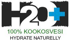 H2O+ 100% Kookosvesi - Hydrate Naturelly