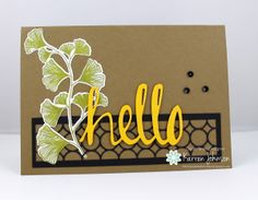 Leafy Hello