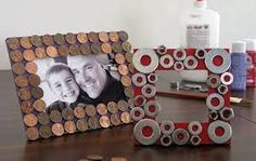 Love the washer frame! Make-and-Learn Crafts: Father's Day Craft Projects for Deserving Dads Diy Father's Day Gifts, Father's Day Diy, Gifts For Father, Happy Fathers Day, Mothers Day Crafts, Crafts For Kids, Homemade Picture Frames, Fathers Day Frames, Father's Day Activities