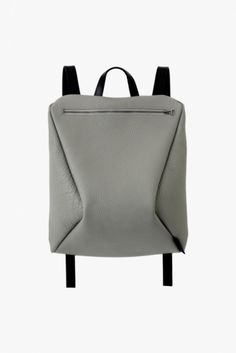 UNDER MY ROOF - leather bags - 90° Backpack Grey