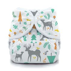 Thirsties Duo Wrap Size 2 in Woodland