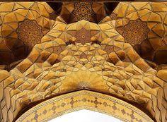 Mezquita Jameh en Esfahan, Irán, 900 años de antigüedad