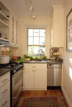 White out.   Desain dapur   Pinterest   Small spaces and Spaces