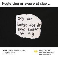 Voldtaegt.dk - Center for Voldtægtsofre Århus' hjemmeside for ofre, pårørende og professionelle. BRUG DEN #stoprape #stopvictimblaming #rapesurvivor #strongerthanever