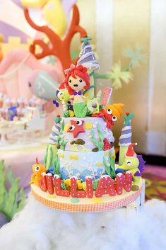 thetruhappiness's Birthday / Under the Sea - Photo Gallery at Catch My Party Cake Sizes And Servings, Cake Servings, Birthday Ideas, Birthday Parties, Birthday Cake, Funny Cake, Types Of Cakes, Under The Sea Party, Cute Desserts
