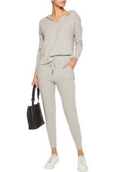 Shop on-sale N.Peal Cashmere Cashmere track pants. Browse other discount designer Pants & more on The Most Fashionable Fashion Outlet, THE OUTNET.COM