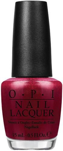 OPI Lacquer - Red Fingers & Mistletoes 0.5 oz - #HRF10