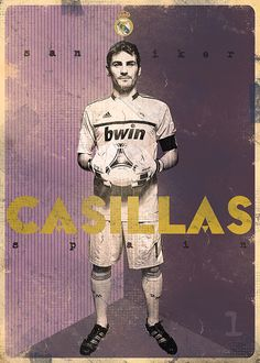 The Gods Of Football (Part II) by Marija Marković on Behance — Iker Casillas Fernández, Spain Uefa Football, God Of Football, Football Names, Football Icon, Football Stickers, Best Football Players, Football Is Life, World Football, Football Soccer
