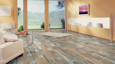 Why you will feel anything but Blue when you see our New Kronotex Amazones Blue Laminate wood flooring;-)