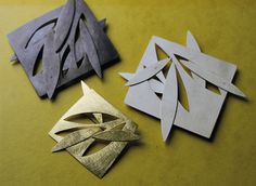 Esther Brinkmann...brooches, silver, gold