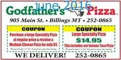 Godfathers Pizza Coupons Ends of Coupon Promo Codes MAY 2020 ! Days hangouts guys starts smelled making great wall and Willy, this t. Pizza Coupons, Love Coupons, Grocery Coupons, Free Printable Coupons, Free Printables, Big Apple Pizza, Pizza Hut Coupon, Godfathers Pizza, Dollar General Couponing