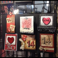 More samples from Stampers Anonymous at the Carson rubber Stamp Convention