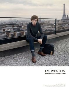 Luxe Chapter Two : J.M Weston http://frenchisgood.com/j-m-weston-luxurious-shoemaker/