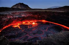 Erta Ale lava lake. Photo by Pier Paolo Giacomoni -- National Geographic Your Shot