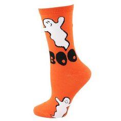 Boo Ghost Socks