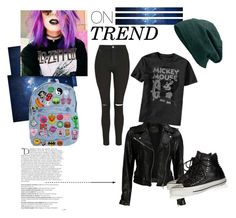 """Free!!!!"" by thaisa-tcs ❤ liked on Polyvore featuring VIPARO, Topshop, Converse and Balmain"