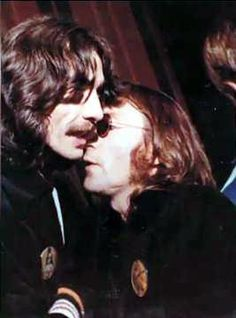 The last known photo of George with John was in 1974. This would be the last time that George saw John, for even though George and John talked to each other through the mid 1970s, sadly John died 6 years later.