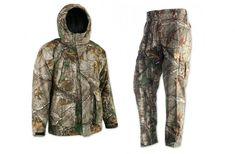 New Realtree Youth Hunting Apparel in 2016 | Browning Insulated Rain Parka and Wasatch Pants