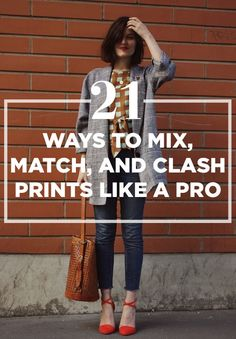 21 Ways To Mix, Match, And Clash Prints Like A Pro