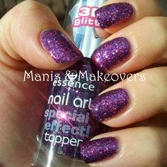 "Manis & Makeovers: Swatch-It Sunday: Essence ""Only Purple Matters"" http://manisandmakeovers.blogspot.com/2013/09/swatch-it-sunday-essence-only-purple.html"