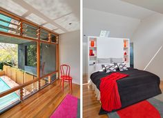 At the Castlecrag Residence, a cellular and inward-looking mid-20thcentury brick bungalow has undergone a vast transformation to a sustaina...