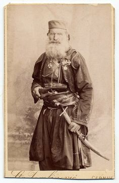 Montenegrin. St. Tomlinović, Cernik - leader of the last Montenegrin military  expedition against the Turks.
