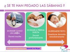 B1. EXPRESIONES RELACIONADAS CON EL SUEÑO. www.e-spanishonline.com