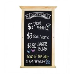 Chalkboard with Crown molding
