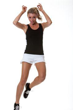 Performance Tennis Short in white
