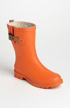 Chooka 'Top Solid Mid Height' Rain Boot (Women) $54.95 by nordstrom