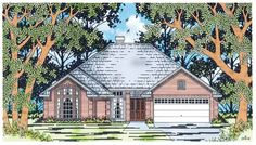 Eplans Cottage House Plan - Traditional Love Nest - 1743 Square Feet and 3 Bedrooms from Eplans - House Plan Code HWEPL12175