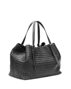 Bottega Veneta A-Shape Woven Tote Bag 5e83c2e7a29