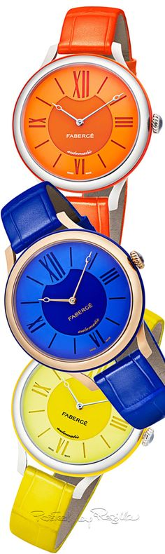 Stylish Watches, Cool Watches, Women's Watches, Luxury Watches, Rainbow Fashion, Colorful Fashion, Handbag Accessories, Fashion Accessories, Tiffany