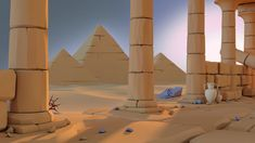 Image result for low poly desert