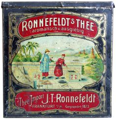 Ronnefeldt Teehaus Frankfurt - Ronnefeldt Tee Producer: Ronnefeldt Teehaus Frankfurt, Germany Tea Type: Black - a blend of black teas Tea Packing: Loose tea Net Weight: 5000g Remark: Collection Number: 2113 Date of Evidence: 12/2009