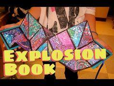 Explosion Book VIDEO TUTORIAL | Ms. Amsler's Artroom