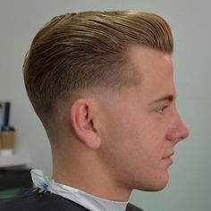 three Vintage Slick Pompadour Styles: Barber Brian Burt | Men Hairstyle Trends