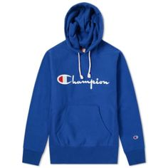 Champion Reverse Weave Script Logo Hoody In Red Champion Gear, Blue Champion Hoodie, Champion Shoes, Champion Brand, Champion Clothing, Trendy Hoodies, Wearing Purple, Casual Outfits, Cute Outfits