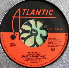 NANCY MARTINEZ.......MOVE OUT & WITHOUT YOU.....1987 CANADA POP..(M-)....HEAR